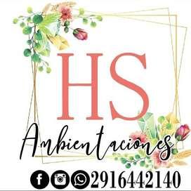HS Ambientaciones-ambientacion de eventos sociales.