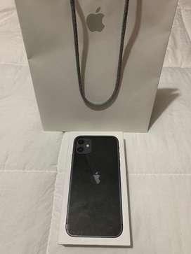 iphone 11 64gb Negro, prácticamente Nuevo, 100% BATERÍA.