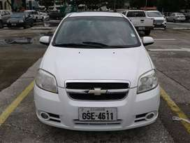 Chevrolet Aveo Emotion Advance 2012 Perfecto Estado