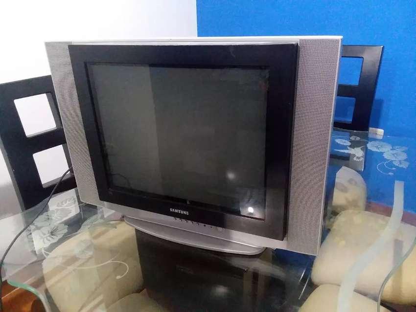 """Televisor convencional 21"""" ofrezca, no pregunte cuánto es lo mínimo, ofrezca"""