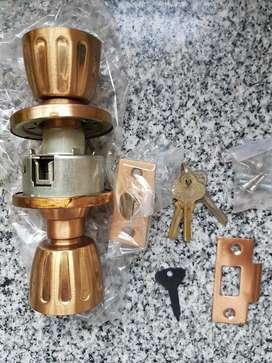 Cerradura Cilindrica con Picaporte