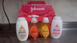 KIT JOHNSON'S PARA BEBÉ IDEAL REGALO
