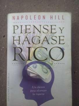 Piense y hagase rico - libro usado