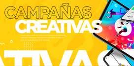 Servicios de Marketing Digital (Diseño grafico, audio visual, campañas en Facebook )