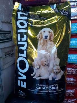 Venta balanceados p/mascotas