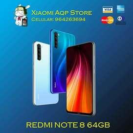 Xiaomi Redmi Note 8 128gb Sellado!!! Color Negro