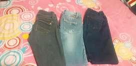 Vendo lote de jeans