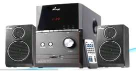 Mini Componente Phoenik 2.1 Teatro en casa bluetooth. mp3, USB/Sd, FM