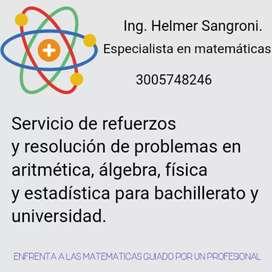 Tutor de matemáticas, geometría y Estadística