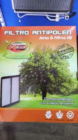 Filtro aire acondicionado