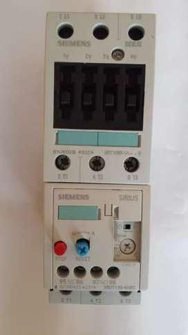 Contactor  electrico  SIEMENS