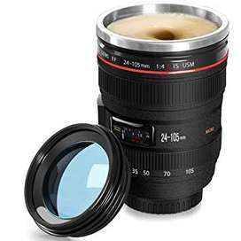 taza en forma de camara fotografica
