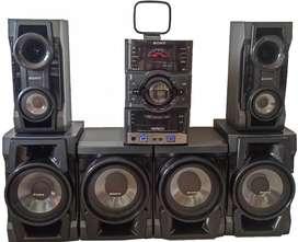 Equipo de Sonido Sony Genezi MHC-GRT77