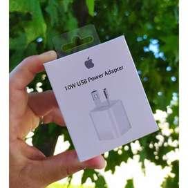 Cargador Pared Apple Original 10w iPhone sin cable 5 6 7 8 X 11 hacemos envios  Envios