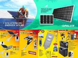 Paneles Solares Y Luminarias Solares P