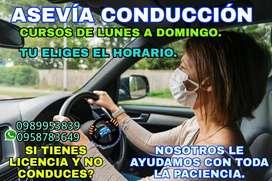 Gran curso solo practico de Conducción en tu propio vehículo o en los nuestros