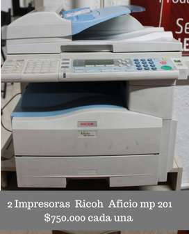 multifuncional RICOH AFICIO MP201