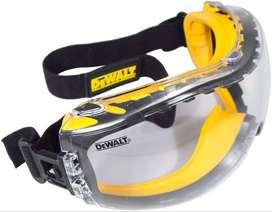 Gafas de seguridad DeWalt DPG82-11 lente transparente, doble molde