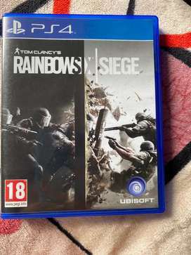 RAINBOWS SIX SIEGE