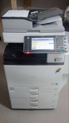 fotocopiadora a color ricoh mp C4502 importada, full equipo, calidad de copia hd laser