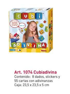 Juego didáctico - Cubi Adivina