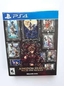 Kingdom Hearts Collection Juego Ps4 Nuevo Y Sellado