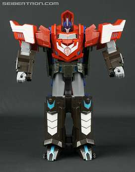 Transformers Mega Optimus Prime Robots In Disguise