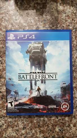 JUEGO PS4 STAR WARS BATTLEFRONT!!!