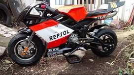 minimoto pista 50 cc para niños