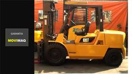 Montacargas Caterpillar Petrolero 5 tn con Garantía