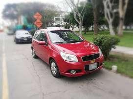 Carro en muy buen estado, Chevrolet Aveo HB, GLP