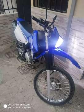 yamaha xtz 250 como nueva