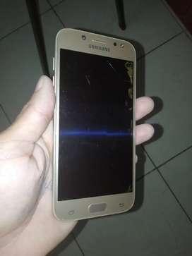 Samsung J5 pro, trizado el display