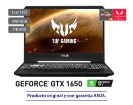 Portatil Asus TUF GAMING 1TB HDD 8 GB RAM RYZEN 5 GEFORCE GTX NIVIDIA 1650