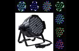 Tacho led 54x5 en RGB + puepira blanco espectro Potencia 120W