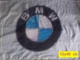 lote banderas auto bmw de autoservicio