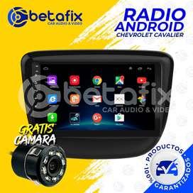 RADIO ANDROID CHEVROLET CAVALIER GPS BT USB WIFI BETAFIX