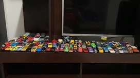 Colección de carros miniatura