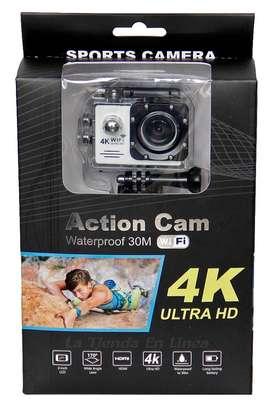 Camara Deportes Video Hasta120 Fps Uhd 4k Wifi + Accesorios