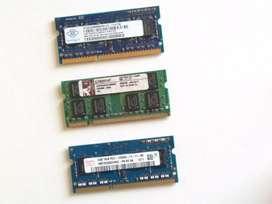 Ram DDR3 2GB para Portátil