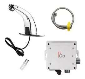 Llave de sensor infrarojo, batería y enchufe, sistema de ahorro de agua