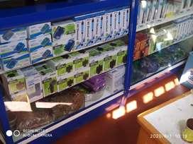 Vendo accesorios para peces
