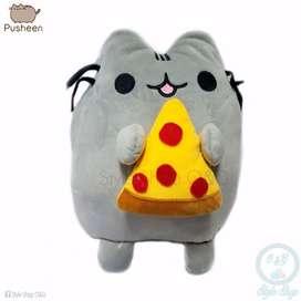 Peluche Pusheen Pizza Ncluye Bolsa De Regalo