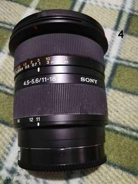 LENTE SONY 11-18mm F4.5-5.6
