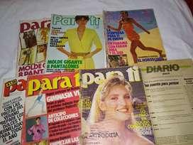 Revista parati 1980 enero oct.83 mol 85 marzo.84 may pollera 86 febrero