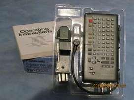 Generador de Caracteres Panasonic VW-CG2E - Excelente