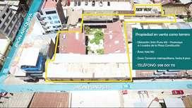 Venta Terreno Comercial Centro de Huancayo