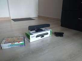 Kinect con 3 juegos originales