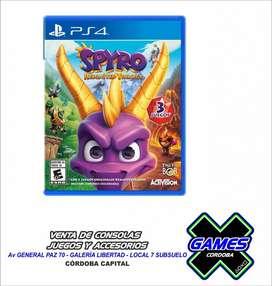 SPYRO PARA PS4