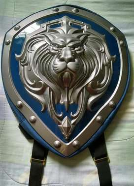 Maleta Escudo Warcraft Alliance